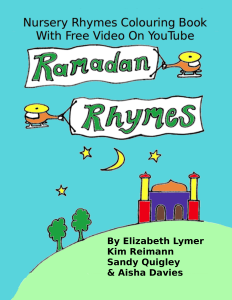 Ramadan Rhymes FRONT COVER 24 MAY 2016
