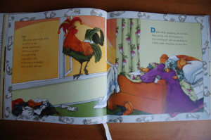 RSRD Rhymes Mother Goose a morning page