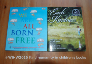#WIHW2015 Kind humanity in children's books