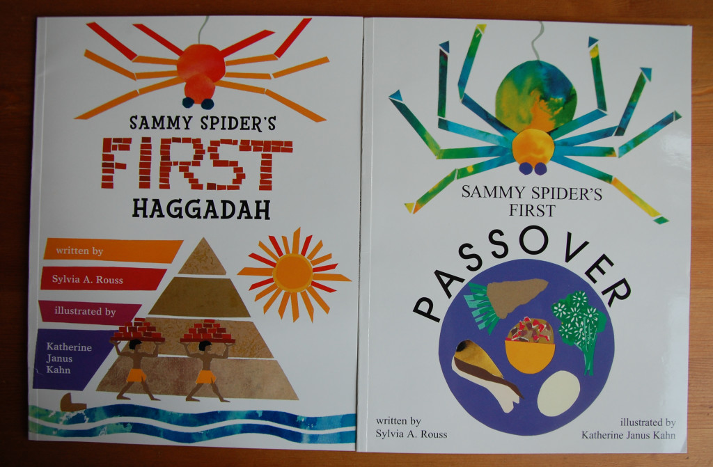 Sammy Spider 2 books for Passover