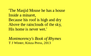 1Montmorency Book of Rhymes quote