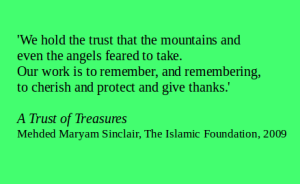 3A Trust of Treasures quote