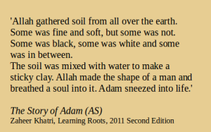 8The Story of Adam AS quote
