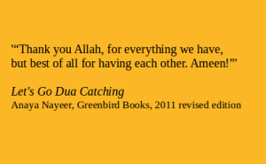 9Let Go Dua Catching quote