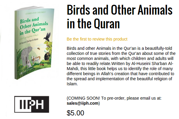 IIPH Birds and Other Animals in the Quran