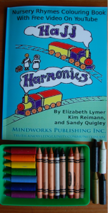 Hajj Harmonies with crayons