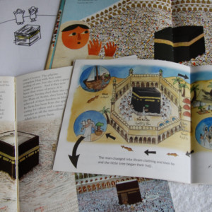 Hajj Kabah pages in four books