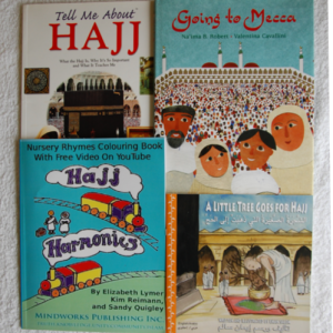 Hajj four book covers