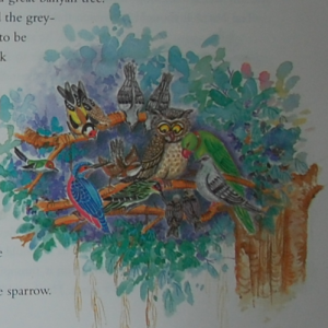 Puffic Classic Indian Tales bulbul page