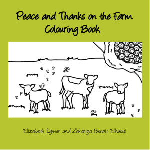 Peace and Thanks on the Farm Front Cover Elizabeth Lymer