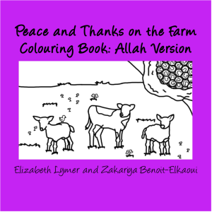 Peace and Thanks on the farm Colouring Book Allah Version small cover image